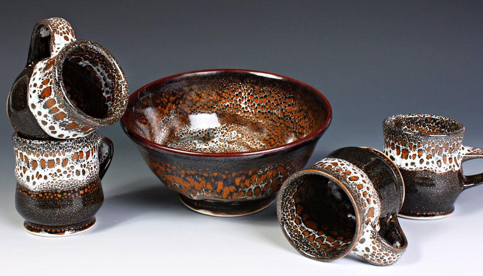 oilspot pottery